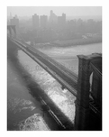 Brooklyn Bridge -  view towards Manhattan - 1982