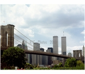 Brooklyn Bridge - with World Trade Center