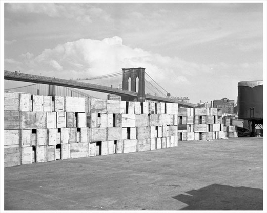 Brooklyn Bridge & Crates