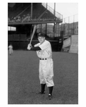 Brooklyn Dodger Leo Doocher - Ebbets Field - Flatbush - Brooklyn NY