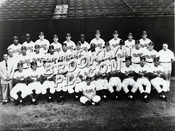 Brooklyn Dodgers 1955 World Champions, their third to last season in Brooklyn