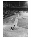 Brooklyn Dodgers Night game at  Ebbets Field 1957 Brooklyn NY