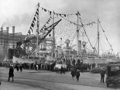 Brooklyn Navy Day, when the facility was open to the public, October 27, 1930