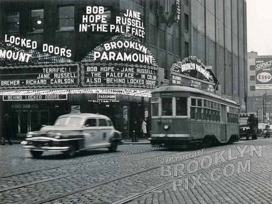 Brooklyn Paramount, Flatbush Avenue Extension at deKalb Avenue, 1951