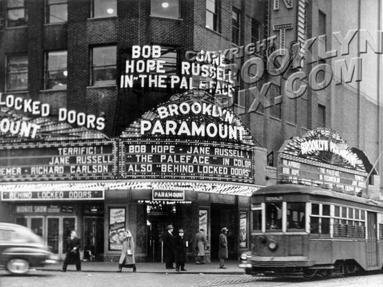 Brooklyn Paramount Theater, at Flatbush and DeKalb Avenues, 1948
