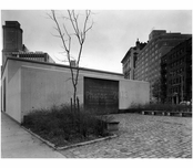 Brooklyn Public Library - Brooklyn Heights Branch, Fulton & Clinton Street -North End with lettering
