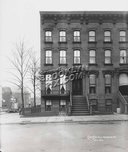 Brownstone on Hanson Place in 1911. This became the site of the Williamsburg Savings Bank Building