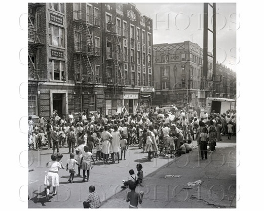 Brownsville Powell Street party 1958