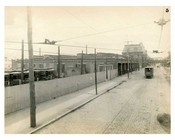 BRT 5 Myrtle Ave Depot Wyckoff Ave looking to Palmetto Street   - Brooklyn NY