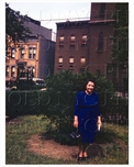 Bushwick Lady in blue in Park 1944