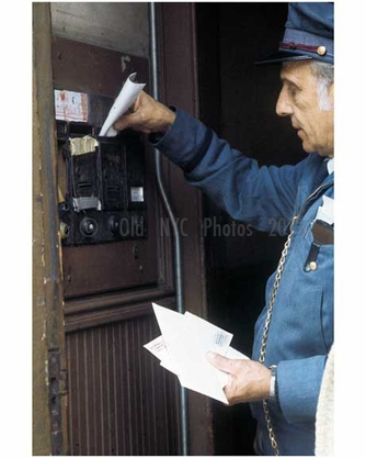 Bushwick mail delivery 1970s