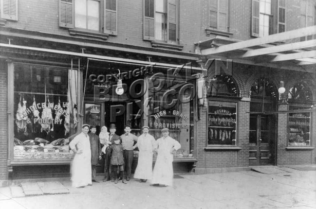 Bushwick Pork Packing Company, 27-29 Bushwick Avenue, 1915