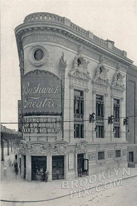 Bushwick Theater, 1396 Broadway at Howard Avenue, Bed-Stuy, c.1915