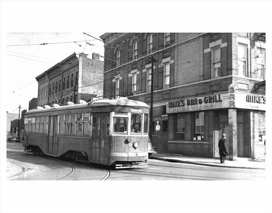 Bushwick Trolley Mike's Bar 1940