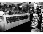 Butcher Shop interior 1930s