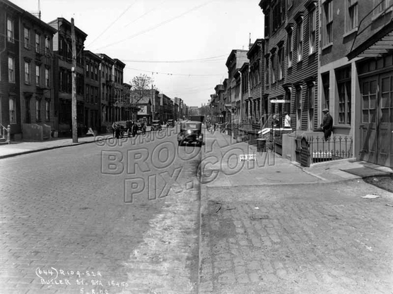 Butler Street looking west to Bond Street, 1928