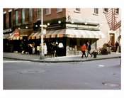 Cafe Figaro - Bleecker & MacDougal - now closed - Downtown Manhattan