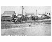 Camp Tents Breezy Point Rockaway Point 1915 Beach