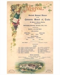 "Canarsie ""Bakers Dining Rooms"" Menu 1915 - Brooklyn NY"