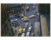 Car Crash on Broadway 1954 manhattan