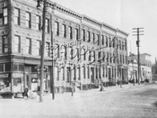 Central Avenue between Mofatt and Chauncey Streets, 1924