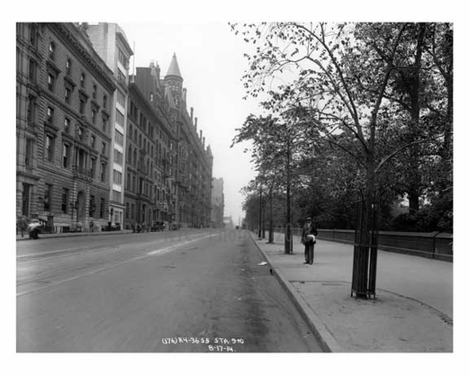 Central Park West Upper West Side Ny 1914 Images And