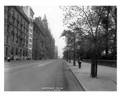 Central Park West - Upper West Side NY 1914