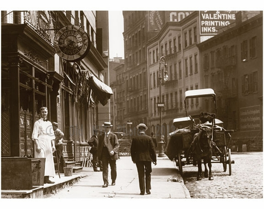 Centre st north to broome st 1907 images and photography for Mural on broome street
