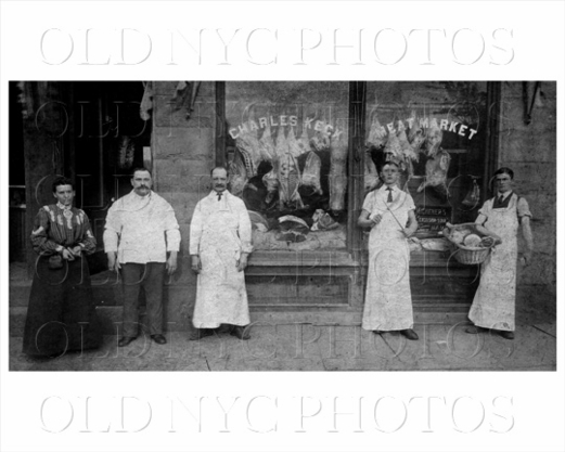 Charles Keck Meat Market, 1904 1385 Bedford Ave near Bergen Crown Heights