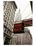 Childs Bar with the Empire State Building behind it - Midtown East