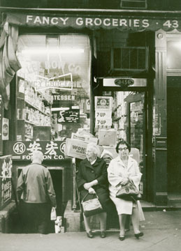 Chinatown New York City 1970