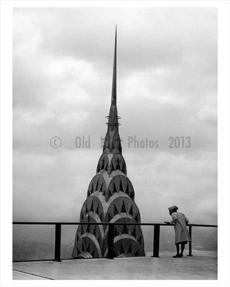 Chrysler Building as seen from the top of the Pan Am Building 1962