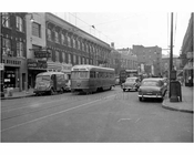 Church Ave Trolley Flatbush 1956