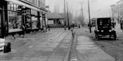 Church Avenue looking west to Utica Avenue, 1923