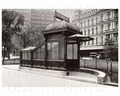 City Hall entrance kiosk 1918