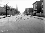 Clermont Avenue south from Lafayette Avenue, 1931