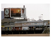 CocaCola billboard at Cony Island boardwalk