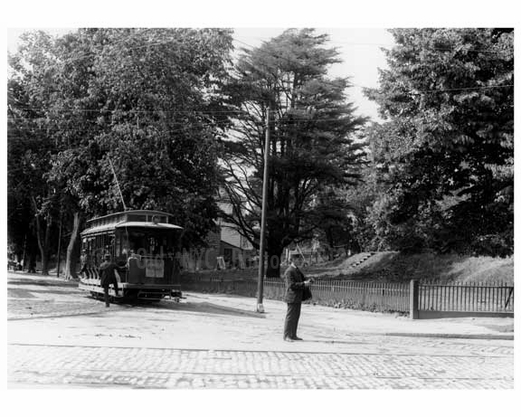 College point Blvd. south from Northern blvd. early 1900s - Flushing - Queens NY