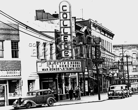 College Theater at Flatbush Avenue and Avenue H, 1945