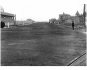 Coney Island Ave - looking south from Brighton Beach to the Ocean 1922