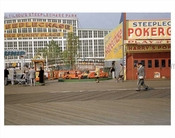 Coney Island boardwalk 1950's