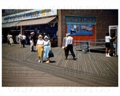 Coney Island Boardwalk 1960