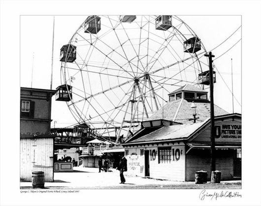 Coney Island Ferris Wheel 1897