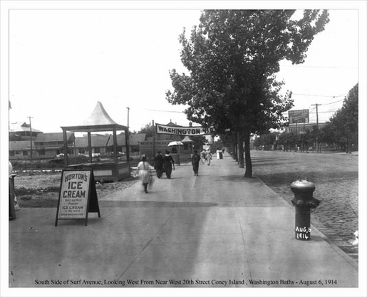 Coney Island Surf Avenue 1914