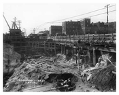 Construction at 149th Street - Sugar Hill - Manhattan - New York, NY 1915
