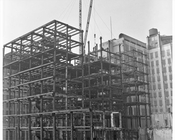 Construction of Met Life Building 1955