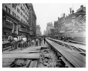 Construction on 7th Avenue & 43rd Street - Midtown - Manhattan  1914