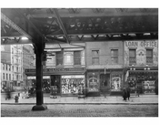 Cooper Square - east side at 5th Street 1915