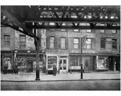 Cooper Square - east side between 4th & 5th Streets. 1915
