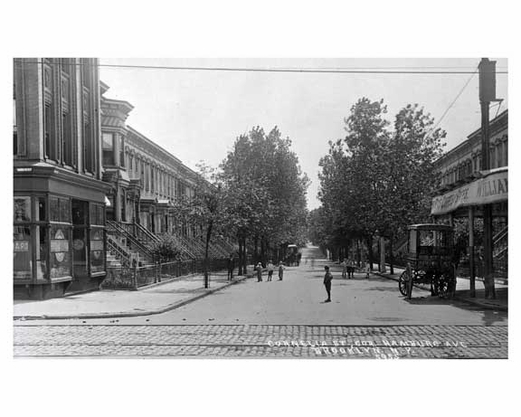 Corneilia Street SW from Wilson Avenue 1909 Bushwick - Brooklyn NY -